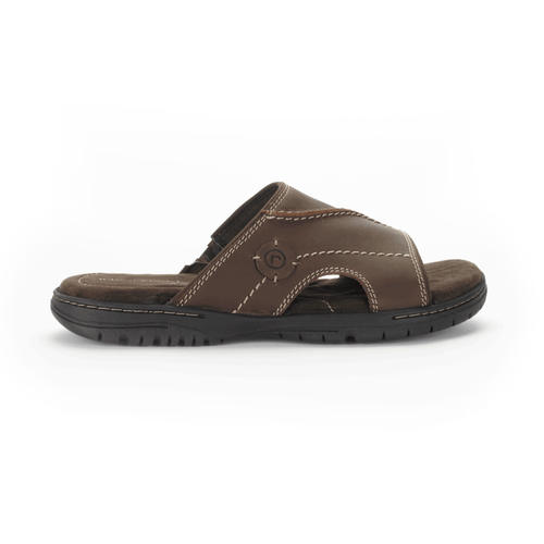 River Heights Slide Men's Sandals in Brown